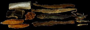 Trockenartikel vom Fisch