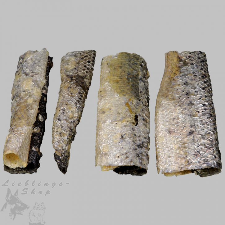 Trocken-Fisch (Lachshaut), 250 g