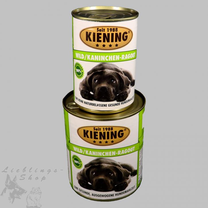 Kieningdosen   Wild-Kaninchen Ragout, 820 g