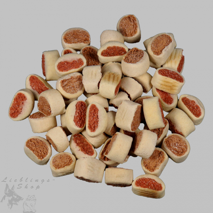 Hundebiskuit   - Lachs-Rollies -, 1 kg