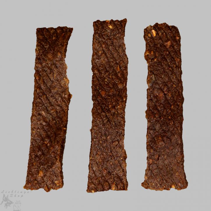 Fleischstreifen - Lachs,  100g, 1 Beutel