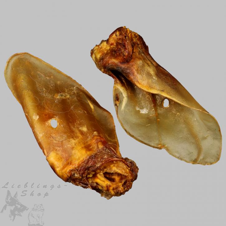 Rinderohren mit Muschel Dt. Qualität, 50 St.