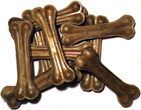 Kauknochen, gepr. 21 cm, 170 g, 10 St