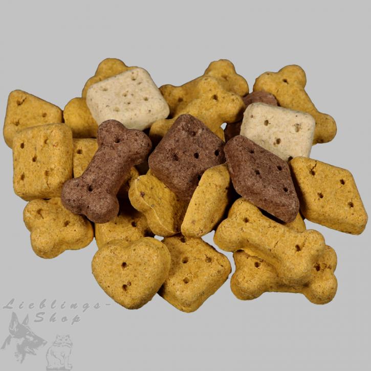 Hundebiskuit   - bunte Leckerbissen -, 1 kg
