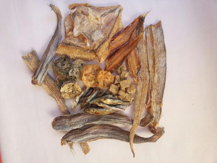 Trocken-Fisch (Fisch-Mix), 500 g