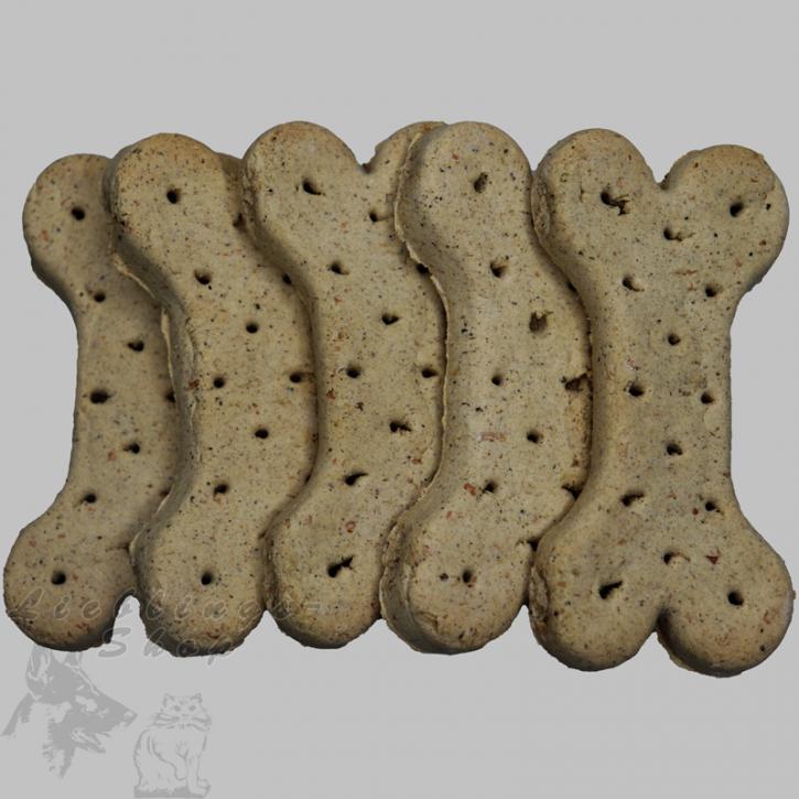 Hundebiskuit   - Lamm+Reisknochen 10cm, 10 Stück