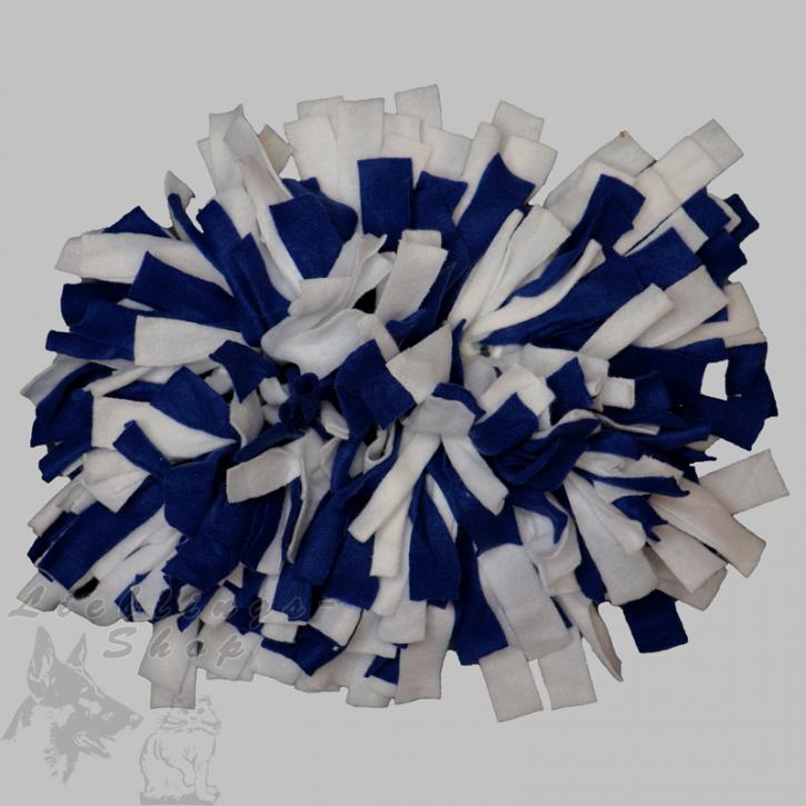 Schnüffelteppich, klein, dunkelblau-weiß, 1 St.