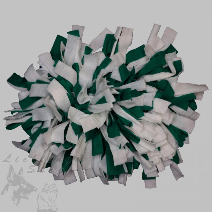 Schnüffelteppich, klein, grün-weiß, 1 St.