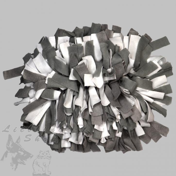 Schnüffelteppich, klein, grau-weiß, 1 St.
