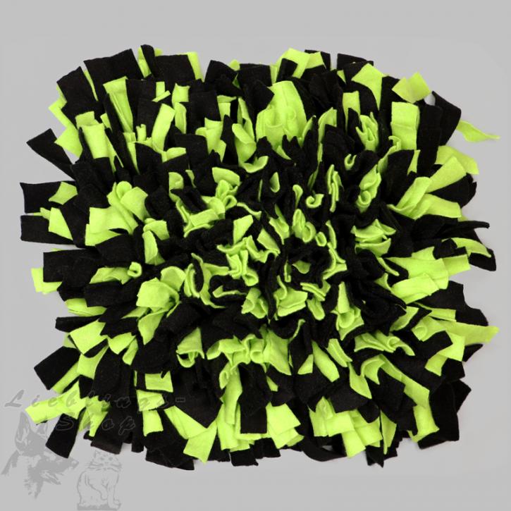 Schnüffelteppich, groß, grün-schwarz, 1 St.