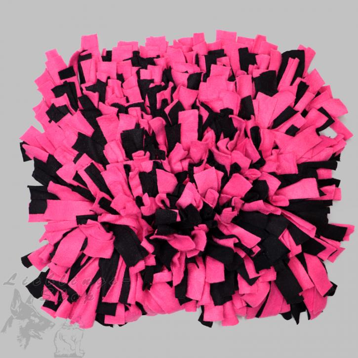 Schnüffelteppich, groß, pink-schwarz, 1 St.