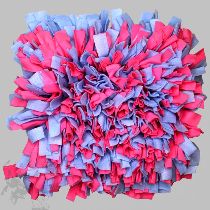 Schnüffelteppich, groß, rosa-hellblau, 1 St.