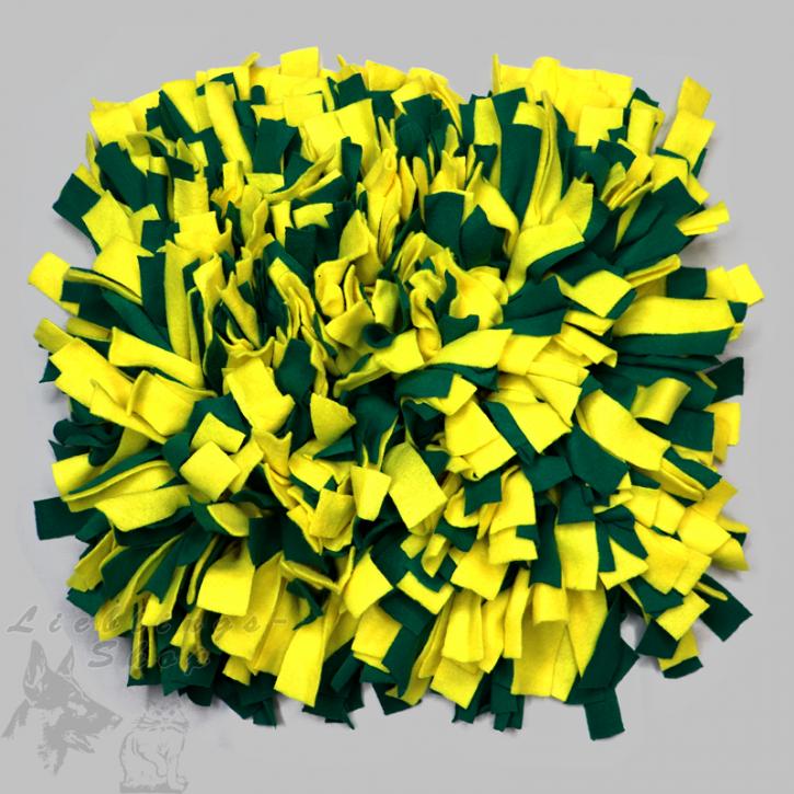 Schnüffelteppich, groß, grün-gelb, 1 St.
