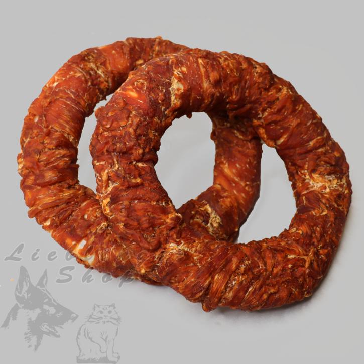 Schnüffelteppich, groß, lachs-dunkelblau, 1 St.