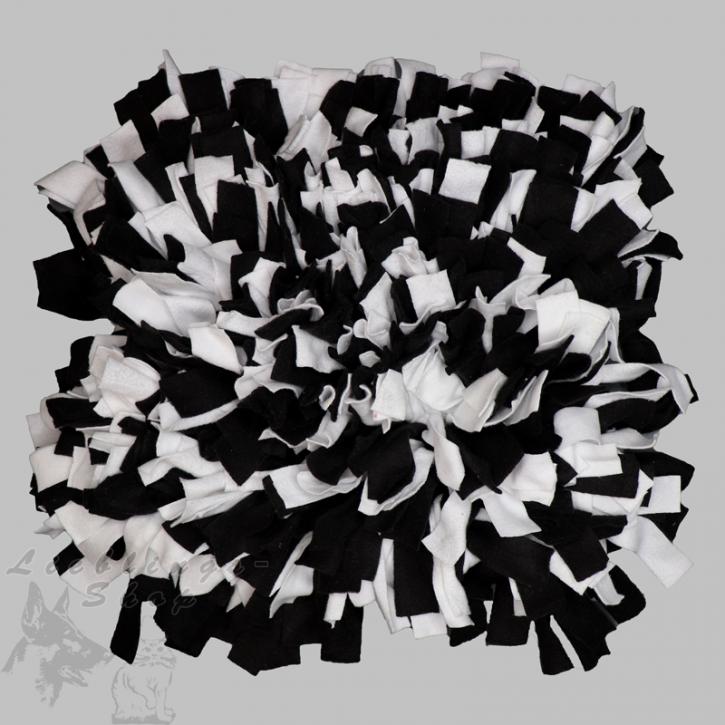 Schnüffelteppich, groß, schwarz-weiß, 1 St.