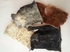 Rinder-Kopfhautplatten mit Fell, 1 kg