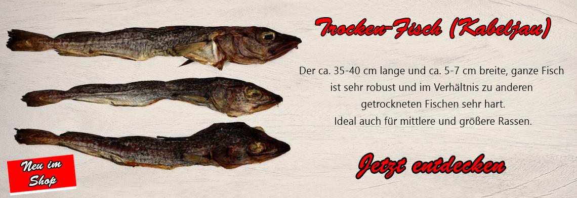 Trocken-Fisch (Kabeljau)
